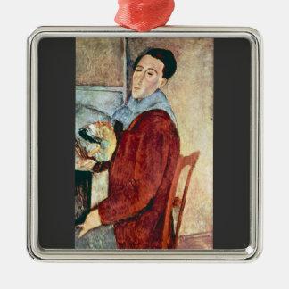 Self Portrait by Amedeo Modigliani Ornament