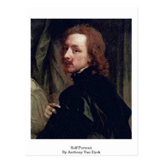 Self Portrait By Anthony Van Dyck Post Card