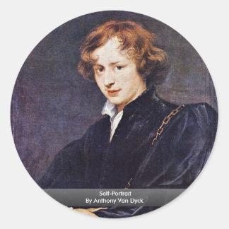 Self-Portrait By Anthony Van Dyck Stickers
