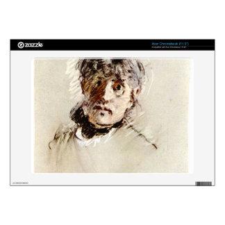 Self-Portrait by Berthe Morisot Acer Chromebook Skin