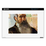 Self Portrait by Camille Pissarro Netbook Decal