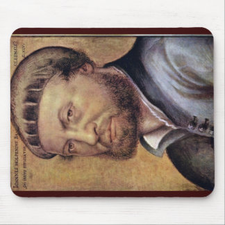 Self-Portrait By Hans Holbein The Younger Mouse Pad