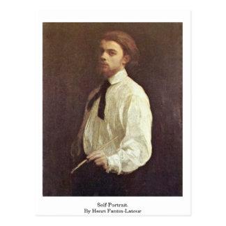 Self-Portrait. By Henri Fantin-Latour Postcard