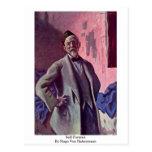 Self-Portrait By Hugo Von Habermann Post Cards