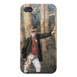 Self Portrait by James Tissot iPhone 4/4S Cover