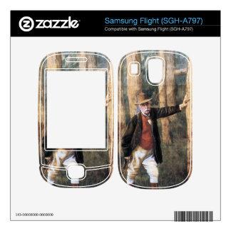 Self Portrait by James Tissot Samsung Flight Decals