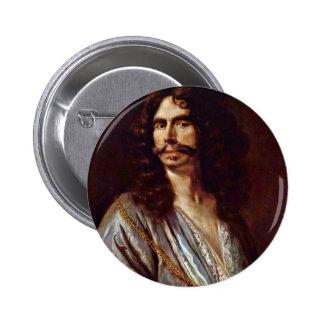 Self-Portrait By Johann Heinrich Roos (Best Qualit Pinback Buttons
