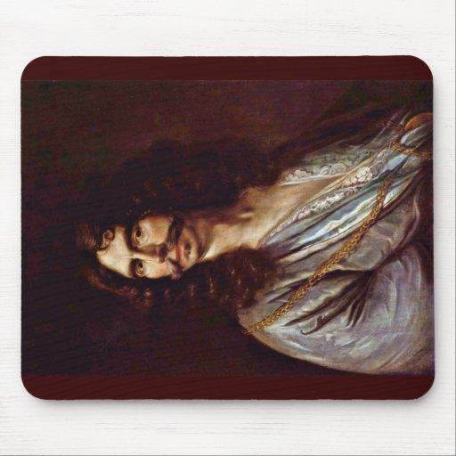 Self-Portrait By Johann Heinrich Roos (Best Qualit Mousepad