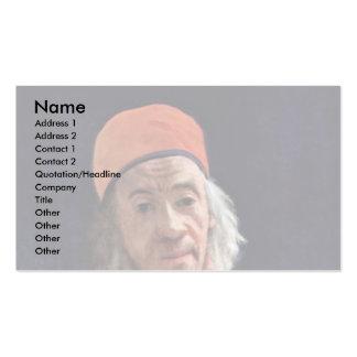 Self-Portrait By Liotard Jean-ÉTienne (Best Quali Business Card Template