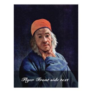 """Self-Portrait By Liotard Jean-ÉTienne (Best Quali 8.5"""" X 11"""" Flyer"""