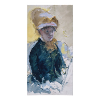 Self-Portrait by Mary Cassatt Card