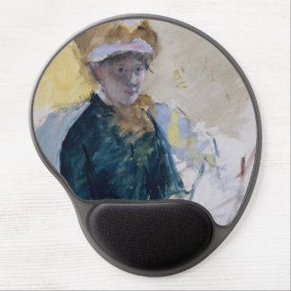 Self-Portrait by Mary Cassatt Gel Mouse Pad
