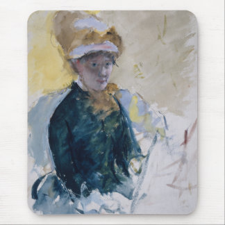 Self-Portrait by Mary Cassatt Mouse Pad