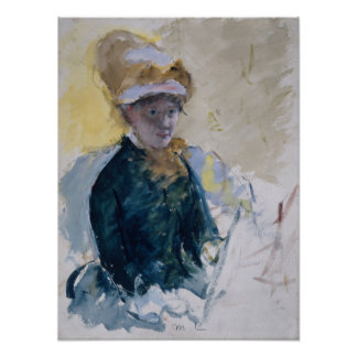 Self-Portrait by Mary Cassatt Posters