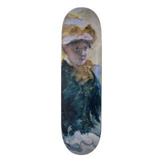 Self-Portrait by Mary Cassatt Skateboard