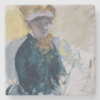 Self-Portrait by Mary Cassatt Stone Coaster