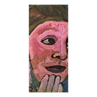 Self-Portrait By Modersohn-Becker Paula Customized Rack Card