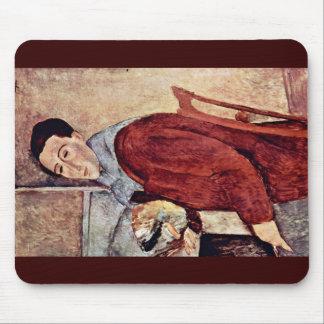 Self-Portrait By Modigliani Amedeo Mousepads