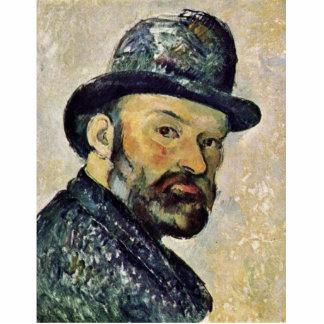 Self-Portrait By Paul Cézanne (Best Quality) Standing Photo Sculpture