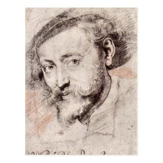 Self Portrait by Paul Rubens Postcard