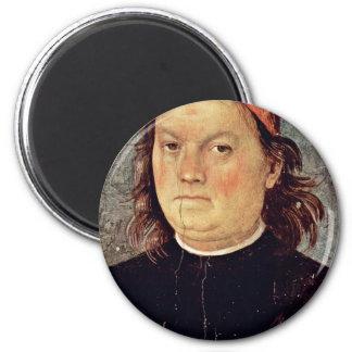 Self Portrait By Perugino Pietro (Best Quality) Magnet
