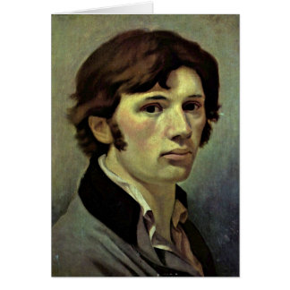 Self-Portrait By Philipp Otto Runge Greeting Card