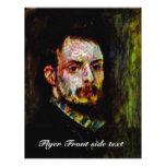 Self-Portrait By Pierre-Auguste Renoir Full Color Flyer