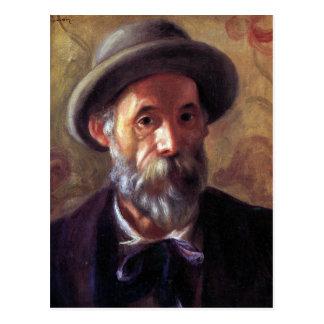 Self Portrait by Pierre Renoir Postcard