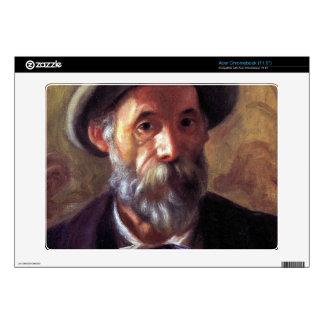 Self Portrait by Pierre Renoir Acer Chromebook Skin