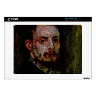 Self Portrait by Pierre Renoir Skins For Acer Chromebook