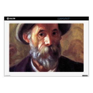 Self Portrait by Pierre Renoir Skins For Laptops
