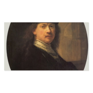 Self-portrait by Rembrandt Business Card