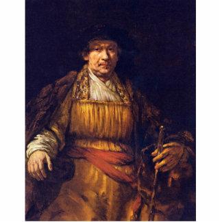 Self-Portrait By Rembrandt Harmensz. Van Rijn Photo Cutouts