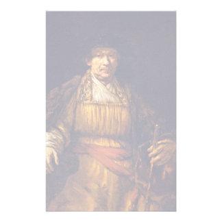 Self-Portrait By Rembrandt Harmensz. Van Rijn Customized Stationery