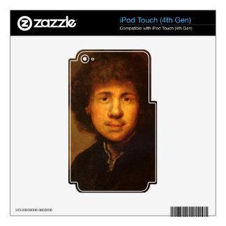 Self-Portrait by Rembrandt Harmenszoon van Rijn iPod Touch 4G Skin