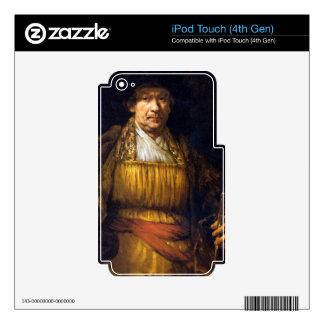Self-Portrait by Rembrandt Harmenszoon van Rijn iPod Touch 4G Skins