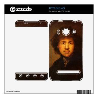 Self-Portrait by Rembrandt Harmenszoon van Rijn HTC Evo 4G Decals