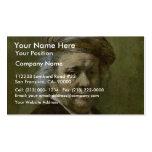 Self-Portrait  By Rembrandt Van Rijn Business Card Templates