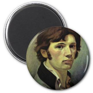 Self-Portrait By Runge Philipp Otto (Best Quality) Refrigerator Magnet