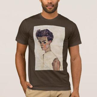 Self-Portrait By Schiele Egon T-Shirt