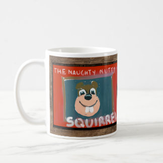 Self-portrait by the NN Squirrel Mug