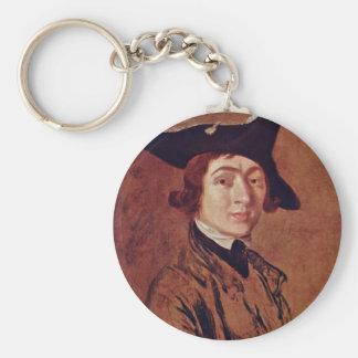 Self-Portrait By Thomas Gainsborough Keychains