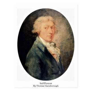 Self-Portrait By Thomas Gainsborough Postcard