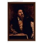 Self-Portrait By Titian Card