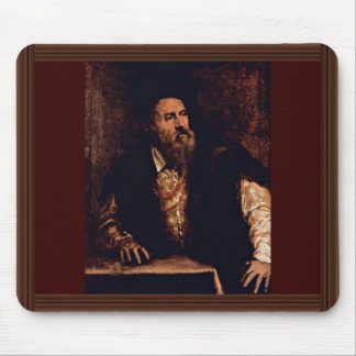 Self-Portrait By Titian Mouse Pads