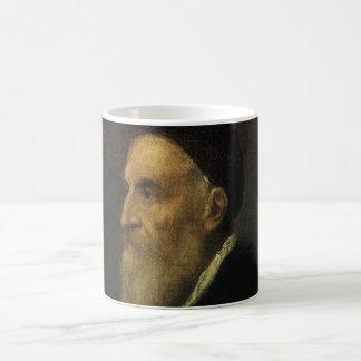 Self Portrait by Titian, Renaissance Art Coffee Mug