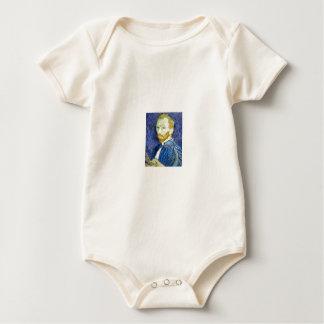 Self-portrait by Vincent Van Gogh 1889 Baby Bodysuit