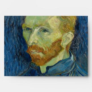 Self Portrait by Vincent Van Gogh 1889 Envelope