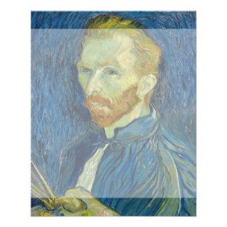 Self Portrait by Vincent Van Gogh 1889 Flyer