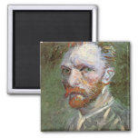 Self-Portrait by Vincent van Gogh Magnet